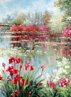Claude Monet #OilPaintingNature