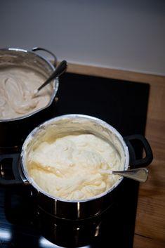 masa serowa dosernika Fondue, Mashed Potatoes, Food And Drink, Cheese, Ethnic Recipes, Whipped Potatoes, Smash Potatoes
