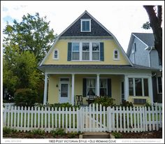 A 1903 Dutch Colonial Revival style house near Old Womans Cove in the Murray Hill neighborhood of Annapolis Maryland. Photograph published on April 30th 2016. To see a full size version of this photo as well as the Annapolis Experience Blog article click on the Visit button. Image and article Copyright © 2016 G J Gibson Photography LLC.