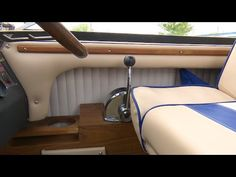 How to Upholster Side Panels on a Powerboat - YouTube
