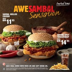 29 Jul-31 Aug 2015: Burger King Limited Time Awesambal Sensation Promotion