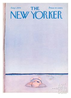 The New Yorker Cover - August 1, 1970 Giclee