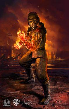 New Mortal Kombat X Kold War Scorpion Skin Pack Exclusively by #GameStop - Pre Order Now