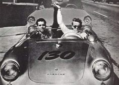 James Dean's Porsche Spider (several friends including eartha kitt, alec guinness and girlfriend ursula andress strongly felt the car had a sinister presence.)