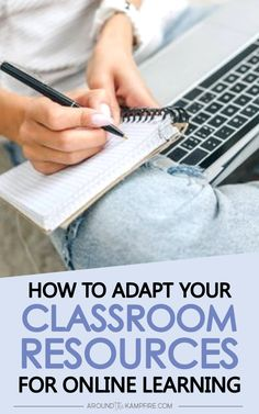 Learn how to adapt and digitize your regular classroom materials for online and distance learning. These tips, tools, and tutorial will help you get started teaching from home and providing at-home learning activities for your students. Teaching Jobs, Teaching Strategies, Teaching Kindergarten, Learning Resources, Student Learning, Classroom Jobs, Classroom Management, Classroom Resources, Google Classroom