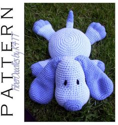 Pillow Pal Puppy crochet pattern to buy