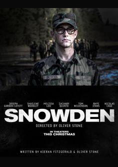 Trailer de Snowden, Novo Filme de Oliver Stone.