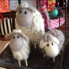 Wool lambs found at I'm Just Sayin at Broadway & Waterloo in Edmond OK