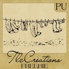 vintage cartoon drawings of panties | Clothesline Hanging ...