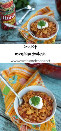 One Pot Mexican Goul