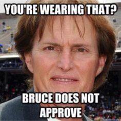 This man though...lol! Brucie love!