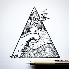 On to the weekend! Here's a recent commission design with some beach vibes. I'll be announcing the giveaway and Stray Together's destination winner tomorrow. Have an amazing Friday!   •  •  •  •  •  •  #illustration#design#art#blackwork#wave#palmtrees#beach#birds#landscape#tattoodesign#linework#dotwork#pointilism#outdoors#adventure#beach#wave#sand#creatives#vsco#graphicdesign#tattoo#drawing#handdrawn#summer#explore#travel#getoutthere#betheadventure#handdrawn#friday#weekend#go