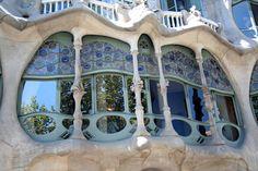 Casa Batilló on Passeig de Gràcia, Barcelona.