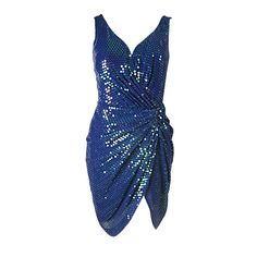 Vicky Tiel Couture Sequins Covered Dress