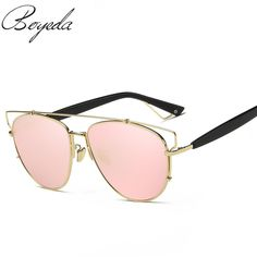 Newest Brand Fashion Polarized Sunglasses Women Mirror Coating Butterfly Alloy Frame Specialties Polaroid Lens Sun Glasses UV400