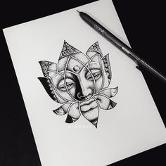 20 Ideas Tattoo Watercolor Small Fine Art For 2019 Simbols Tattoo, Head Tattoos, Sleeve Tattoos, Mandala Tattoo, Small Tattoos, Lotus Tattoo, Buddha Tattoo Design, Buddha Tattoos, Tattoo Sketches