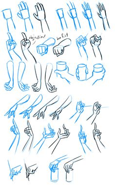 ✔ Drawing Tips Anime Hands Hand Drawing Reference, Drawing Hands, Art Reference Poses, Drawing Poses, Drawing Tips, Drawing Techniques, Sketch Poses, Animation Reference, Sketch Art