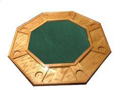 Poker Table Green Felt Poker Table Felt, Table Games, Diy Projects, Woodworking, Green, Childhood, Table, Board Games, Infancy