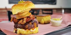 of Fred Bouchard of Moonshine BBQ.Note: To make onion rings, onions ...