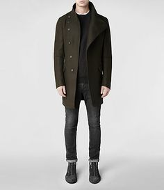 All Saints /// Sylvan Coat