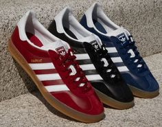 72494a9328dc Adidas Gazelle Indoor leather trainers