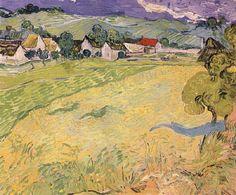 Vincent van Gogh. Les Vessenots in Auvers