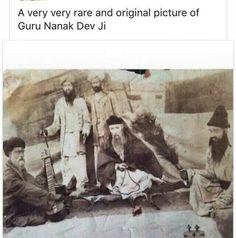 Very rare picture of Guru Nanak Dev Ji