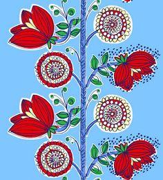 Marimekko - vine, flowers, colors