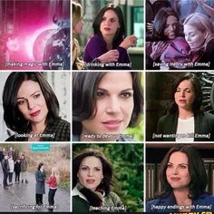 Awesome Regina and Emma (and Henry)