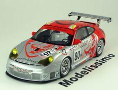Porsche 911 (996) GT3 RSR, Le Mans 2006, No.80, van Overbeek/Neiman/Long. Minichamps, 1/18, No.100 066480. 100 EUR
