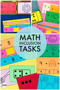 This is a bundle of math visuals for your small groups. From counting to addition, you will reach for these cards every day in kindergarten and first grade. Math 5, Guided Math, Addition Strategies, Engage Ny, Making Ten, Inclusion Classroom, Eureka Math, Subitizing, Math Groups