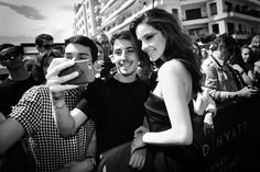 Barbara Palvin meets fans - Photo by Gareth Cattermole