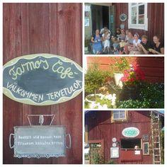 Farmors Café, Högsåra Tack, Chalkboard Quotes, Art Quotes, Summer, Summer Time