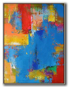 Palette Knife Contemporary Art #L1B #acrylic-painting #Artists_Leo-Chun #Contemporary