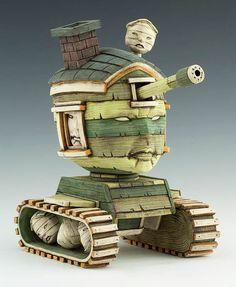 Entre Sculptures et Art Toys, les créations de Calvin Ma   Ufunk.net
