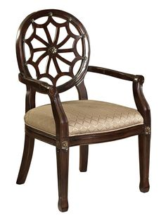 This is my dream chair!!!  They call them spider web... but I think it looks more like a flower!