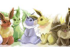 Pokémon GO : Les évolutions d'Évoli