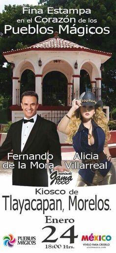 Fernando de la mora y alicia villarreal 2015