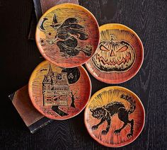 vintage looking plates | Pottery Barn #potteryparty
