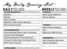chores. really excited about this. its a template to fill in your own daily, weekly, monthly, semi-annual chores :) printing mine now!