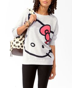 Relaxed Hello Kitty® Pullover | FOREVER21 - 2025101018