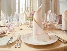 Mesa de Casamento - Decoração de Casamento em Tons de Rosa