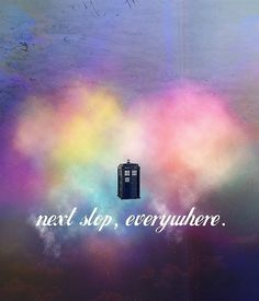 next stop, everywhere. doctor who