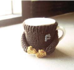 PDF pattern Coffee mug cozy / cup cosy by Nawanowe on Etsy, $5.00