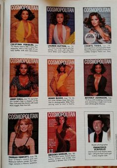 Cosmo covers