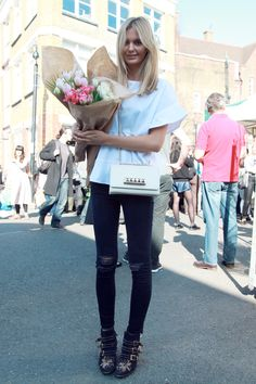 Valentino Bag + Chloe studded boots