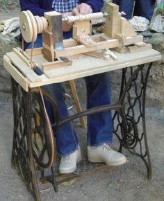 Resultado de imagen de fabriquer un tour a bois