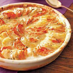 Easter recipes: Two-Potato Gratin