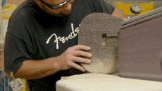A Fender Stratocaster Made of Corrugated Cardboard Actually Sounds Awesome  - PopularMechanics.com