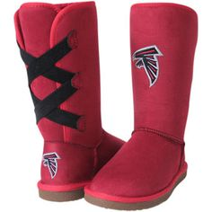 Cuce Atlanta Falcons Women's Conqueror Boots is available now at FansEdge. Enjoy fast shipping and easy returns on all orders of [[product_name]]. Falcons Football, Football And Basketball, Falcons Gear, Giants Baseball, Nfl Carolina Panthers, Football Outfits, Nfl Shop, Spirit Wear, Team Apparel